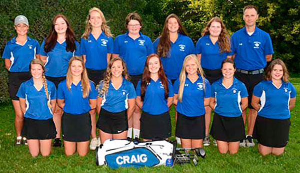 Golf Girls 2017-18